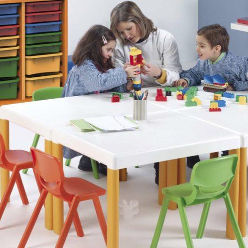 Mesas polipropileno infantiles