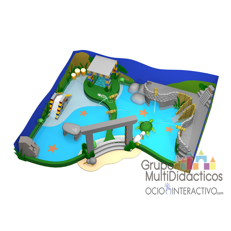 Parque acuático tematizado AZTECA