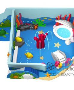 Parques acuaticos tematizados para balnearios