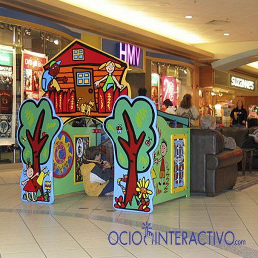 Zona de juegos centro comercial