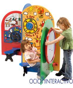 Zonas infantiles modulares