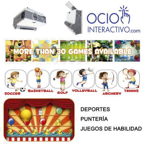 proyector ineteractivo juegos