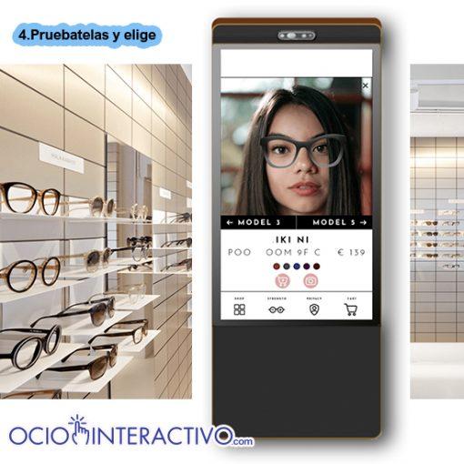 probador virtual gafas