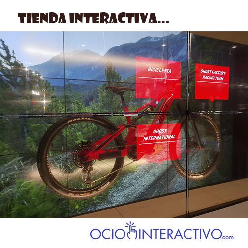 Tienda virtual interactiva
