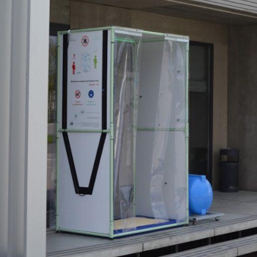 puerta desinfectante CORONAVIRUS