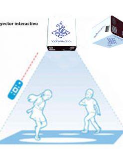 Proyector interactivo para el suelo